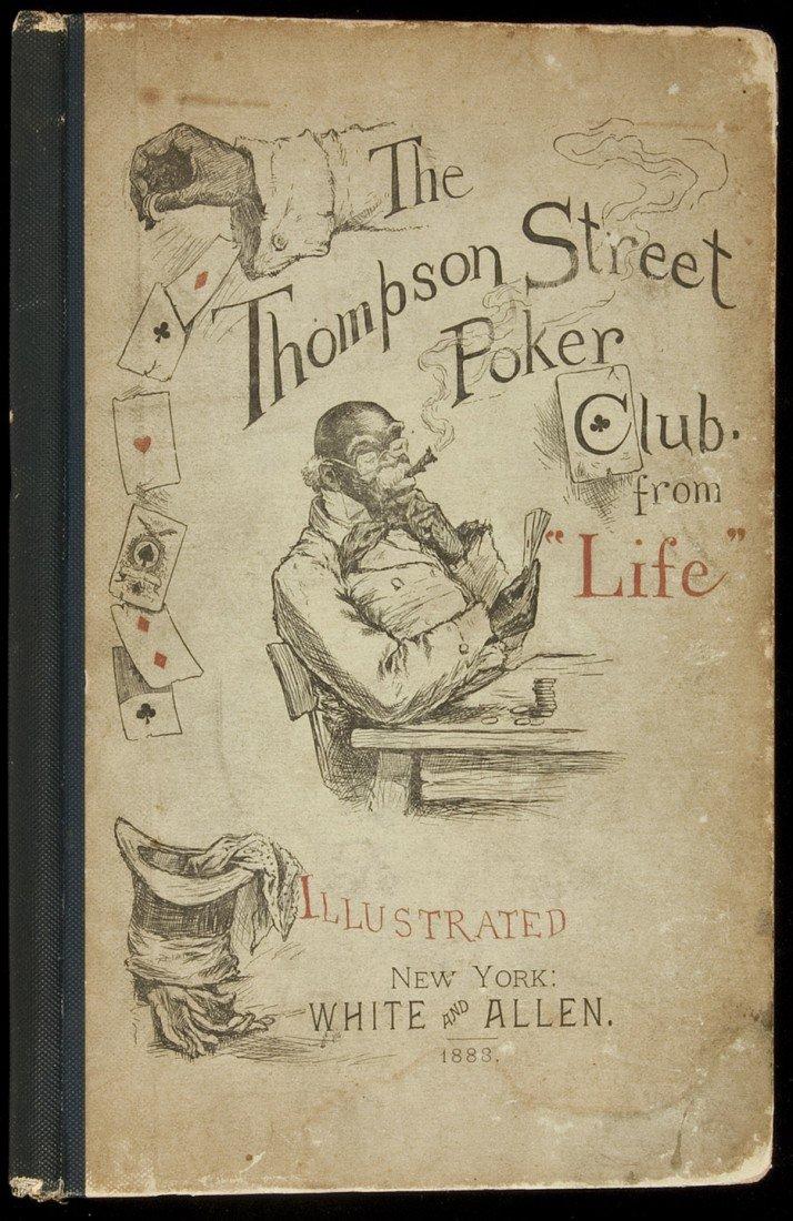 1: Black caricature in Thompson Street Poker Club