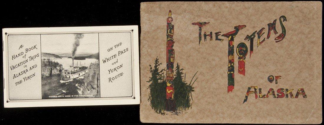 2: Two Alaska tourist booklets