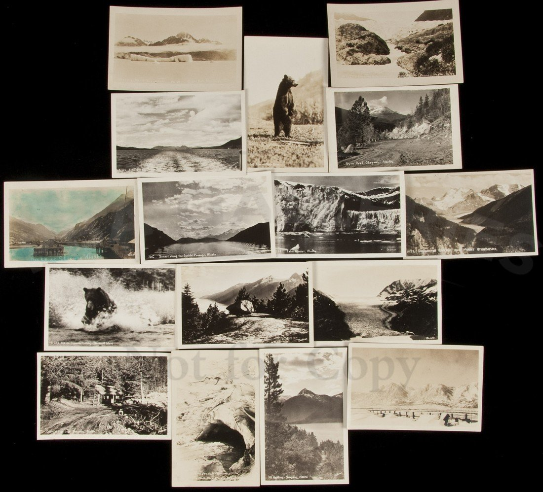 3: Forty-one Post Cards of Alaska