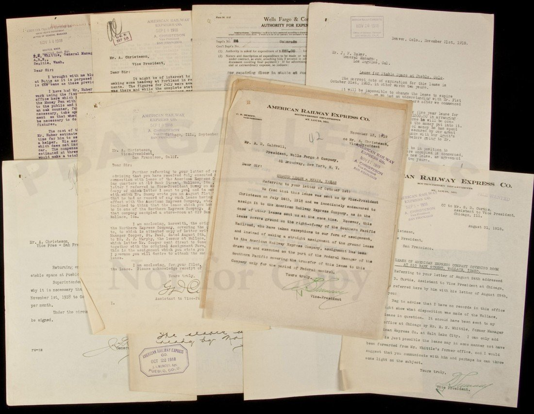 4: American Railway Express archive