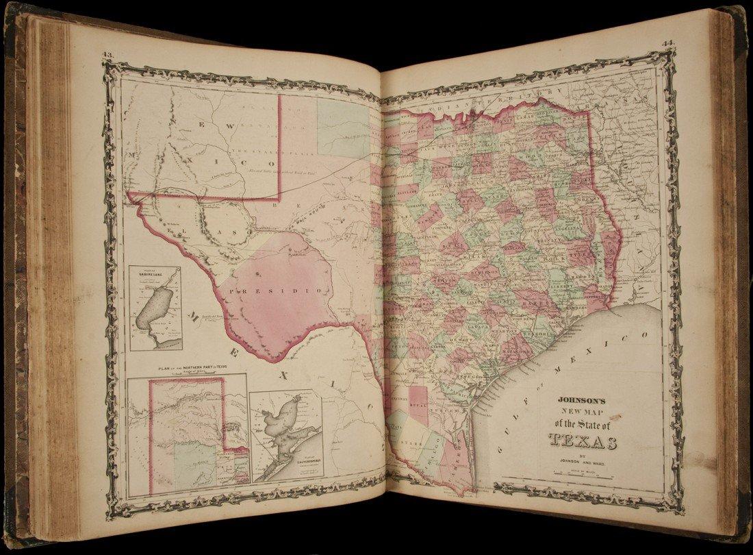 5: Johnson's Civil War era Atlas 1862