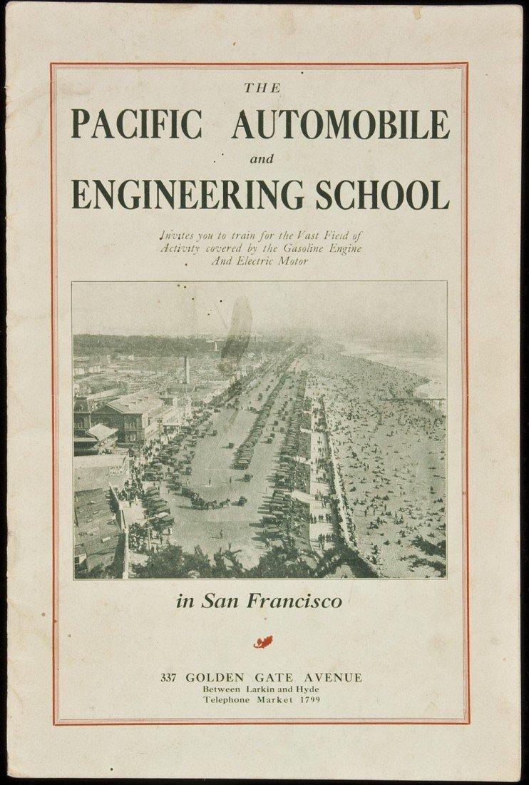 7: Manual for Pacific Auto School 1922