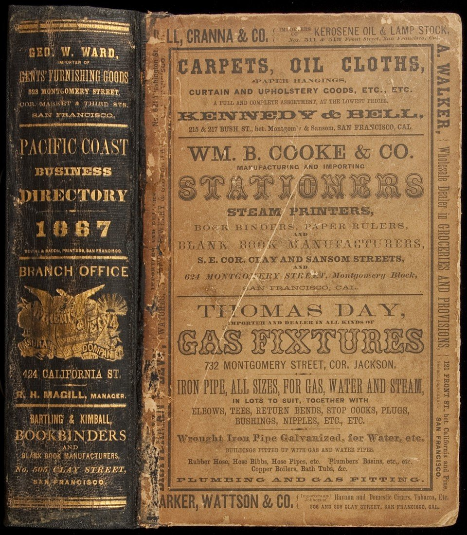 96: Langley's Pacific Coast Directory 1867