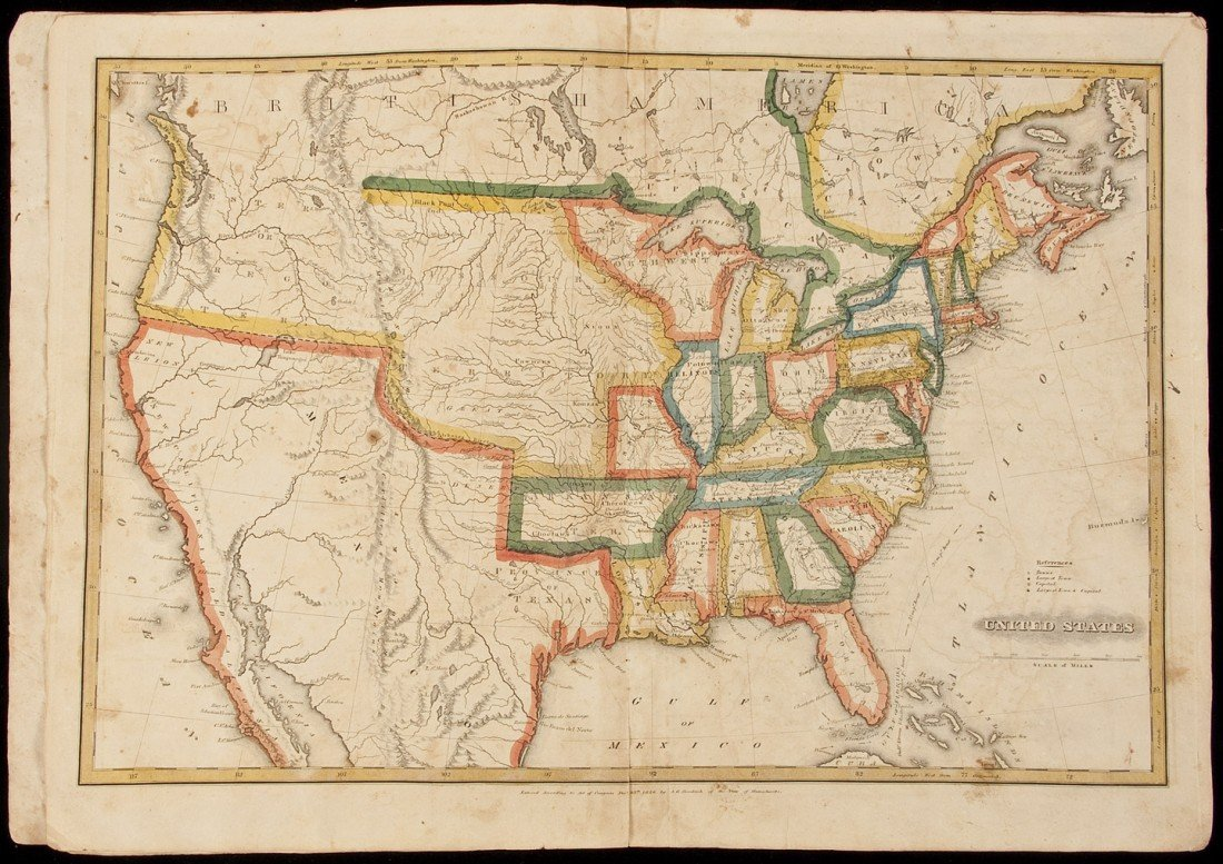 1: Goodrich's Larger atlas w/7 maps 1826