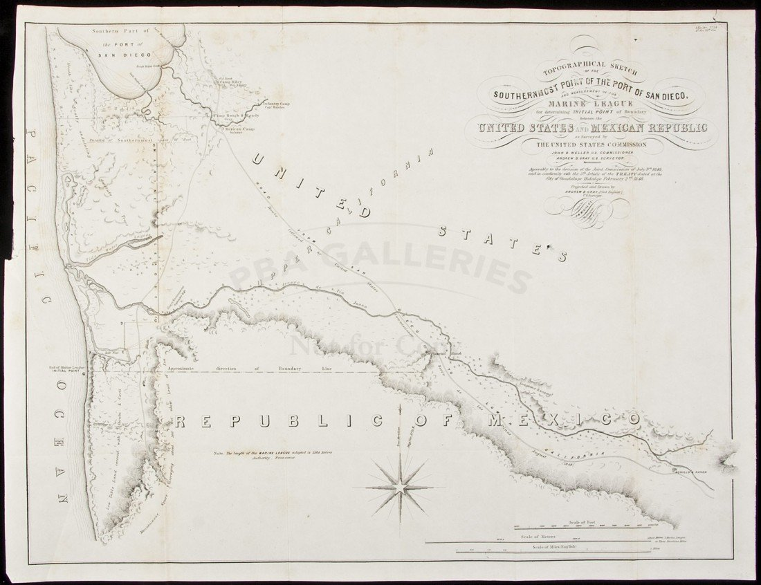 10: Map of Port of San Diego 1849