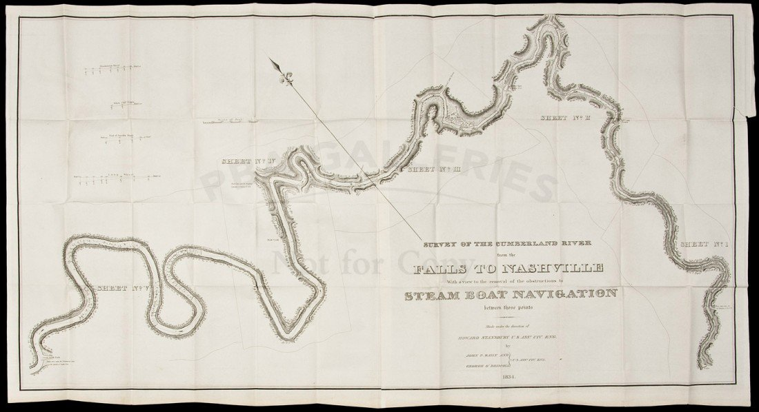 24: Survey of the Cumberland River 1834