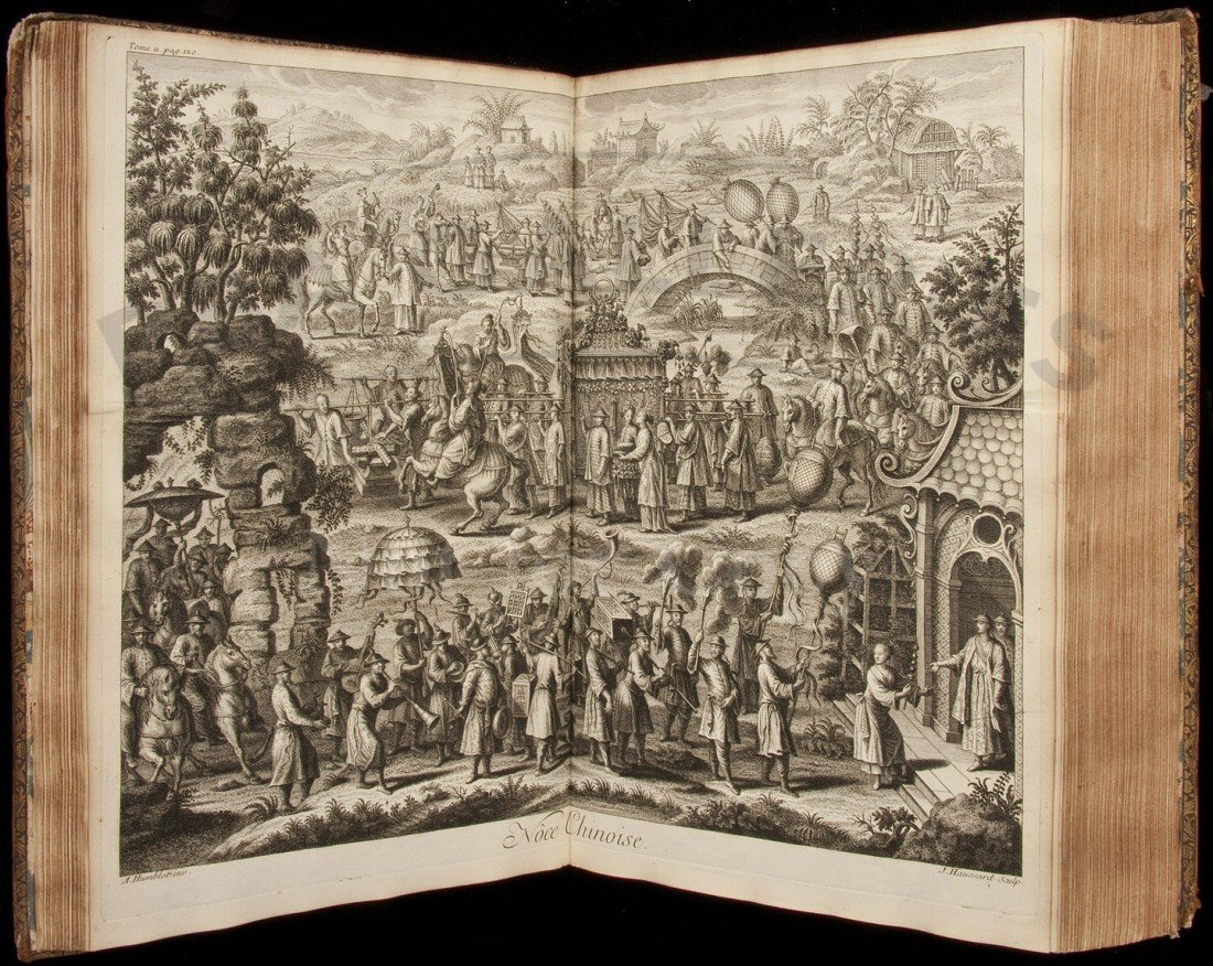 97: Du Halde's China, 1st ed., 4 volumes, 1735
