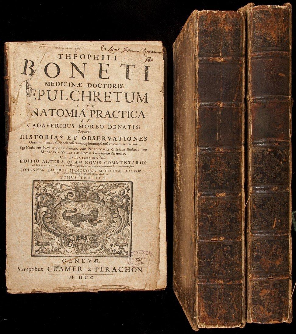 203: T. Bonet Sepulchretum Sive Anatomia Practica