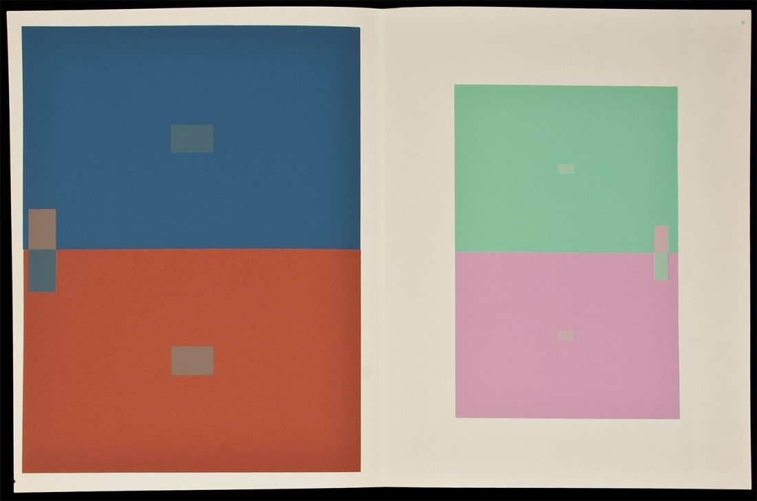 2: Interaction of Color w/plates 1963 rare
