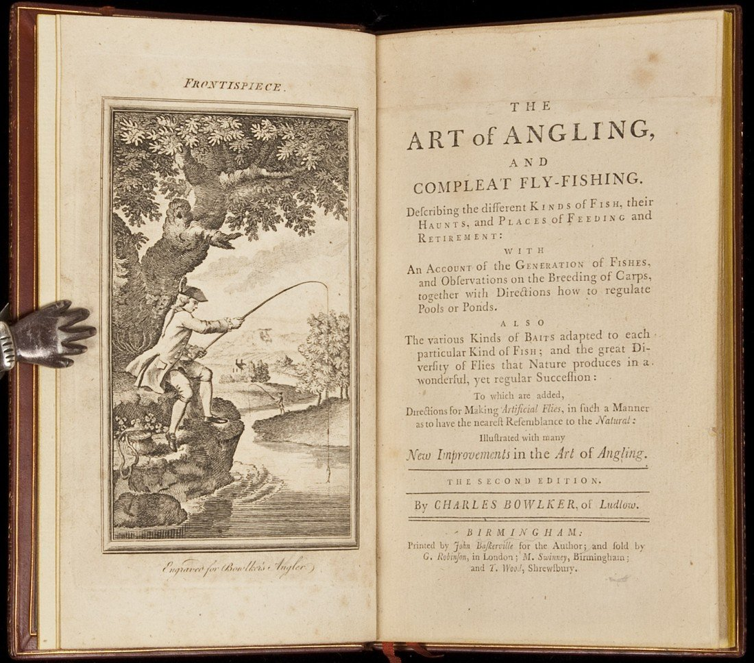 4: Charles Bowlker The Art of Angling 1774 2nd edn