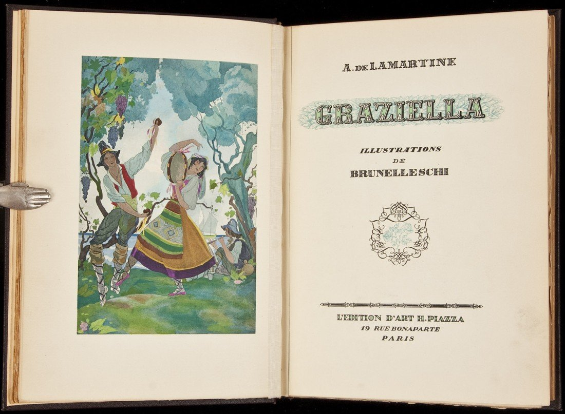 21: Graziella illustrated by Brunellischi