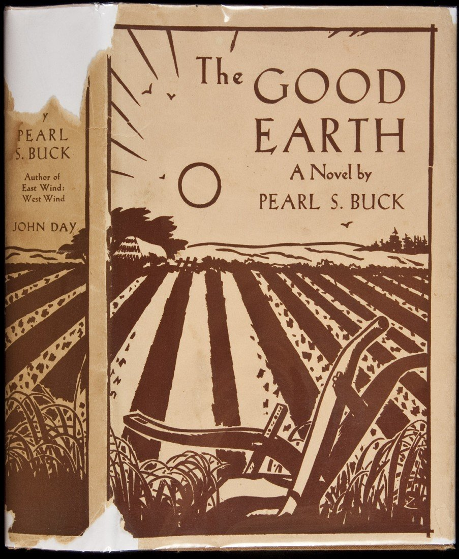 10: Pearl S. Buck The Good Earth 1st Edition in dj