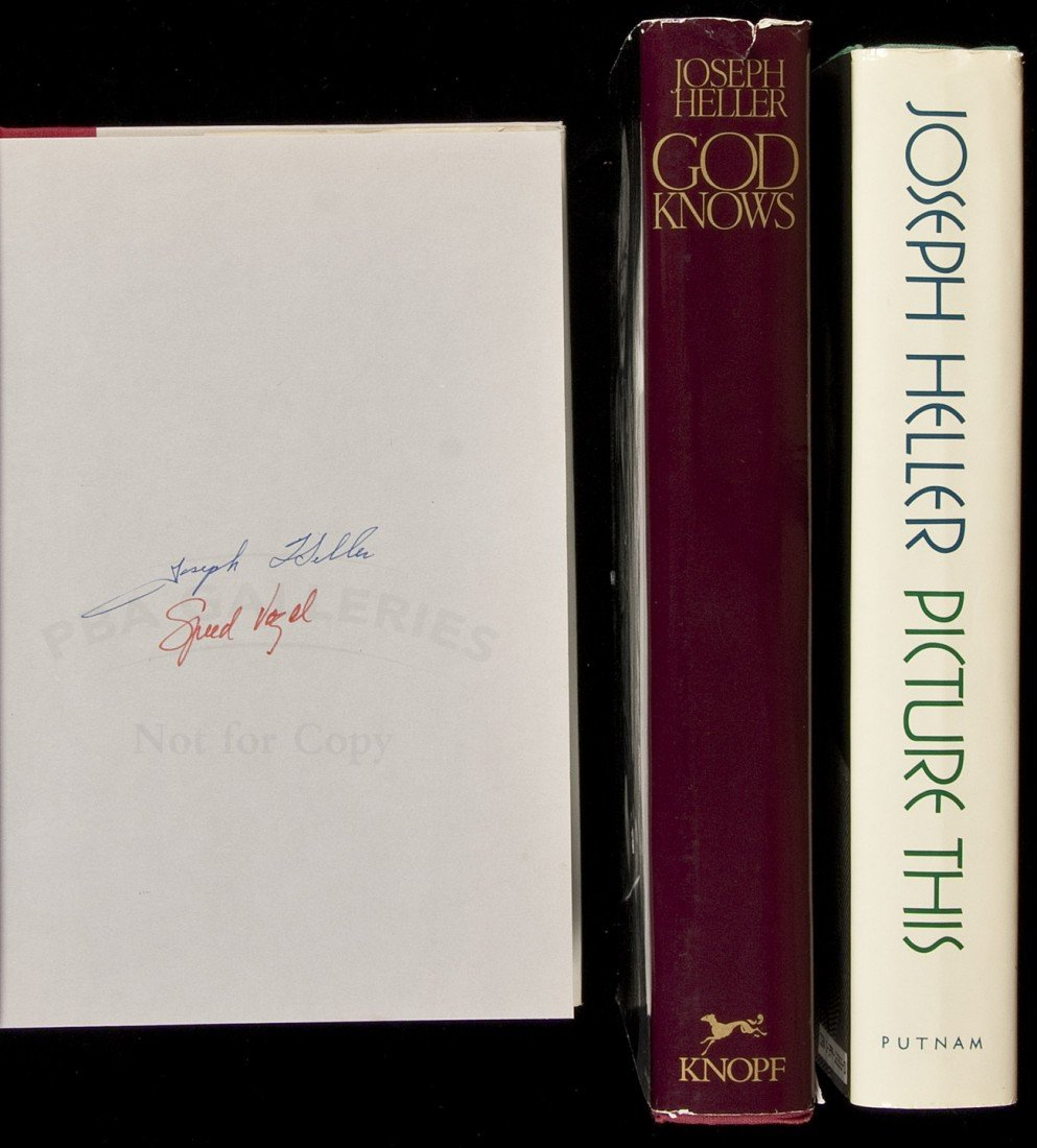 141: Three signed novels by Joseph Heller