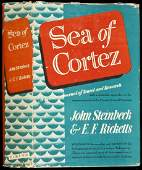 242 Sea of Cortez by Steinbeck 1st cloth issue in dj