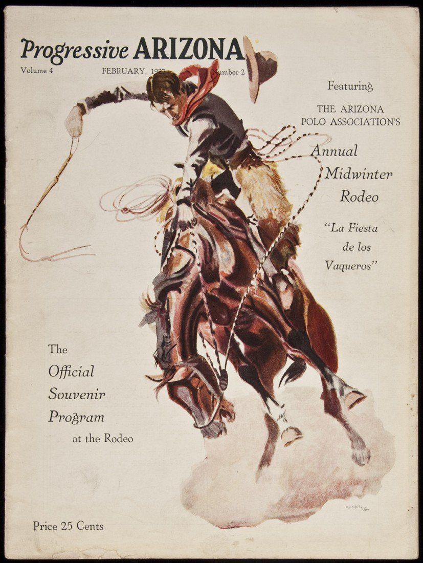 7: Progressive Arizona mag Midwinter Rodeo 1927