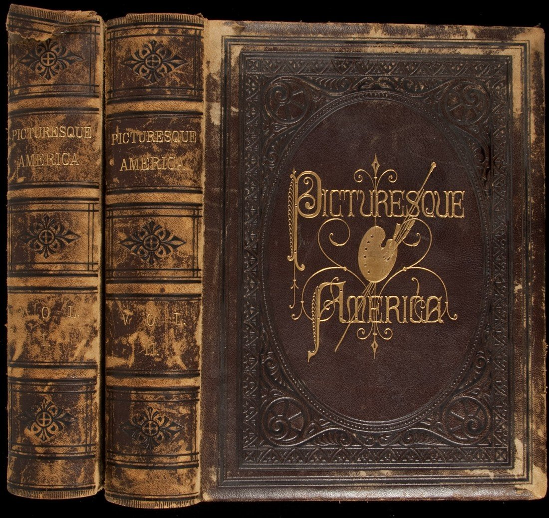 20: Picturesque America 2 vols 1872-1874