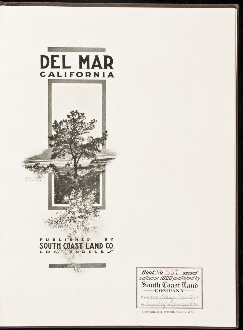 24: Del Mar California 1912 1/1000 copies