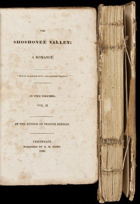 Timothy Flint The Shoshonee Valley 1830