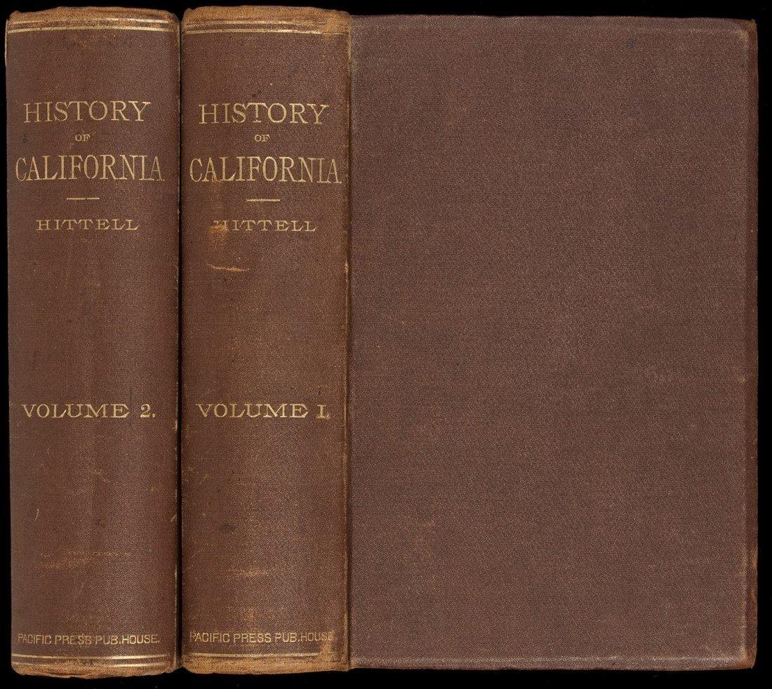 97: History of California 2 vols 1885