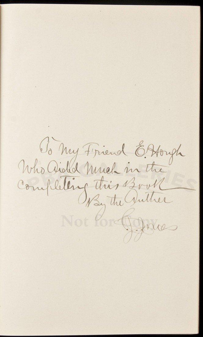 102: Buffalo Jones' Forty Years of Adventure Inscribed
