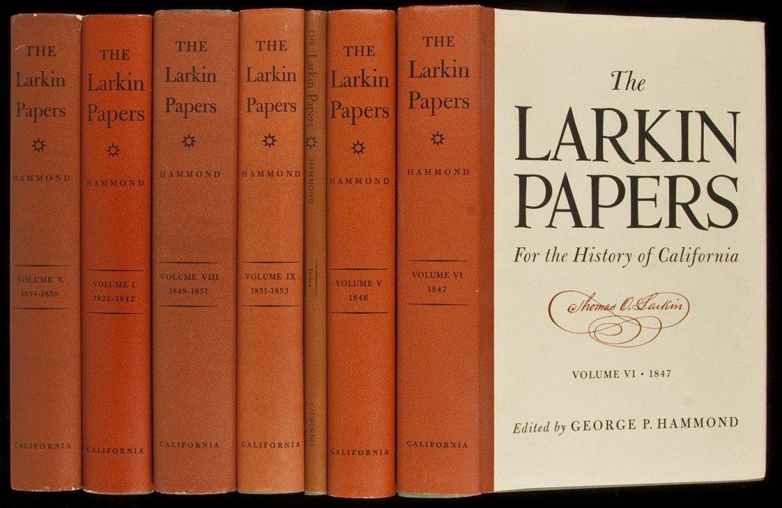 113: Larkin Papers 10 vols + index