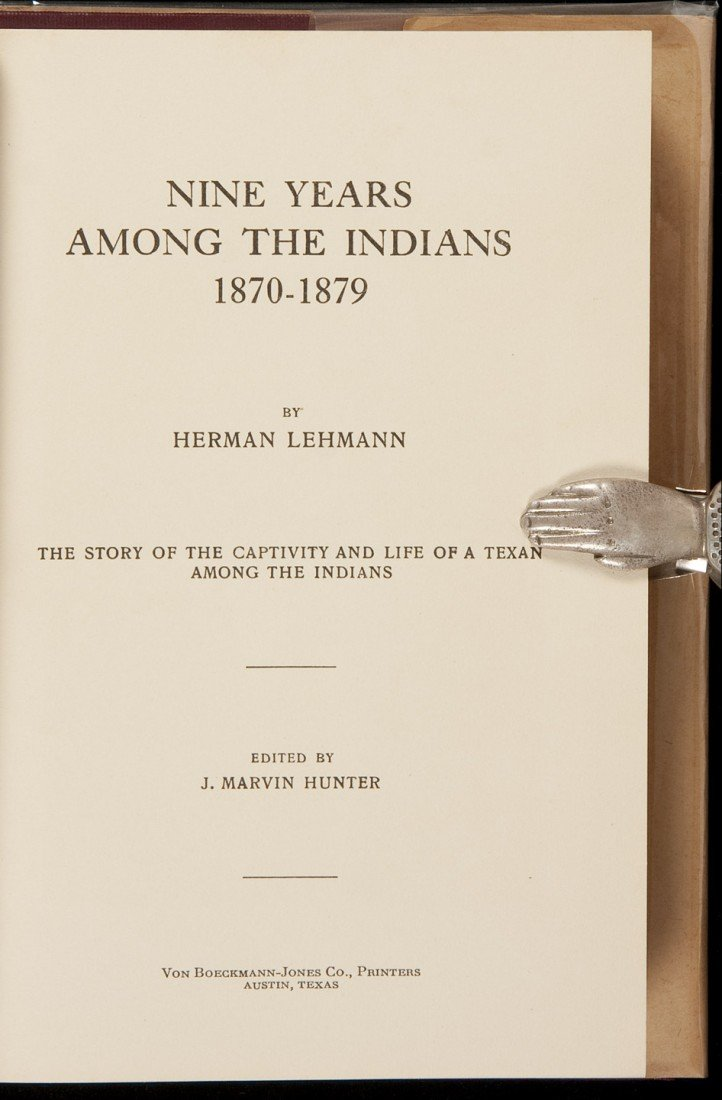 114: 9 Years Among the Indians 1870-79 in dj