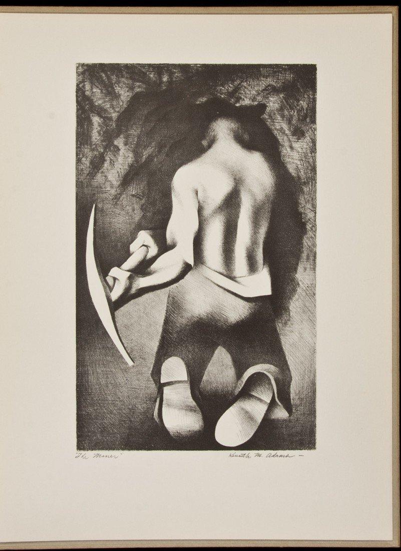 2: Portfolio of Lithographs - Kenneth M. Adams