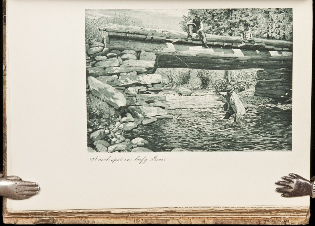 6: The Speckled Brook Trout by Louis Rhead