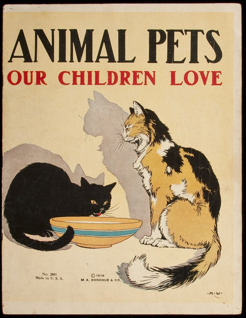 7: Animal Pets Our Children Love 1918