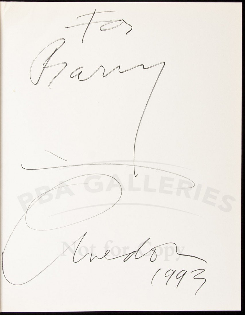 12: An Autobiography signed by Richard Avedon, 1993