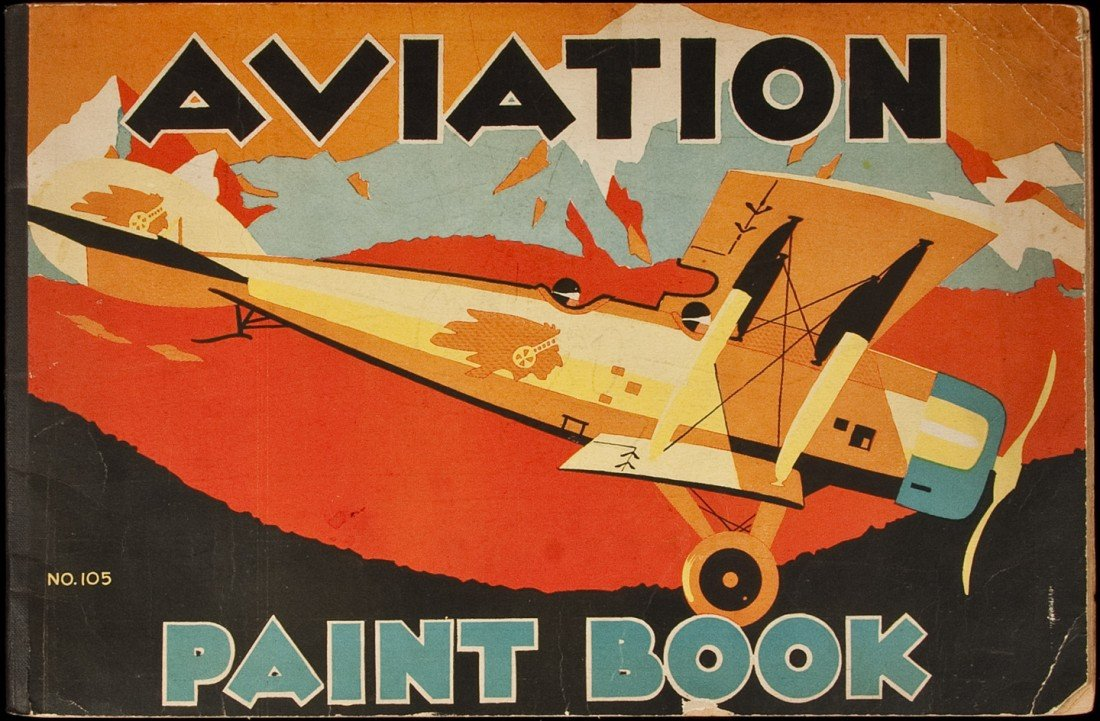 15: Aviation Coloring Book