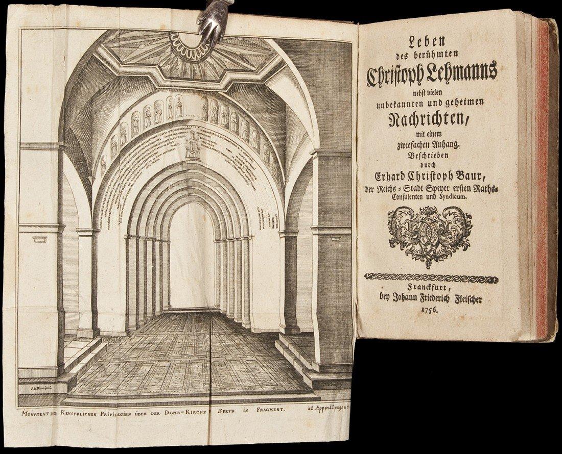 19: Life of Christoph Lehmanns 1756