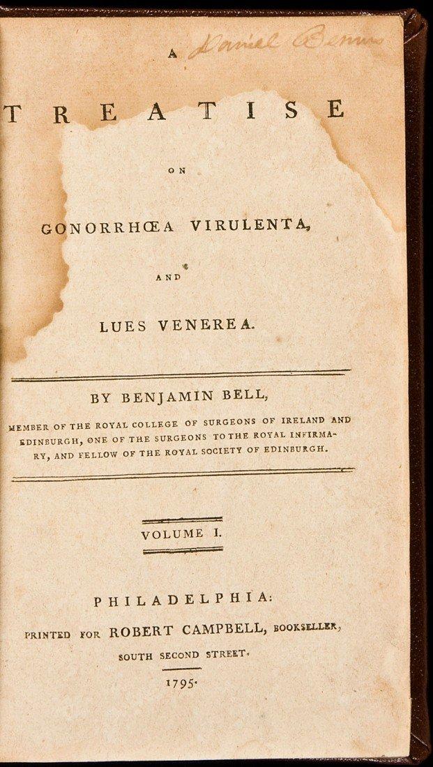 20: Bell's Treatise on Gonorrhoea Virulenta 1795