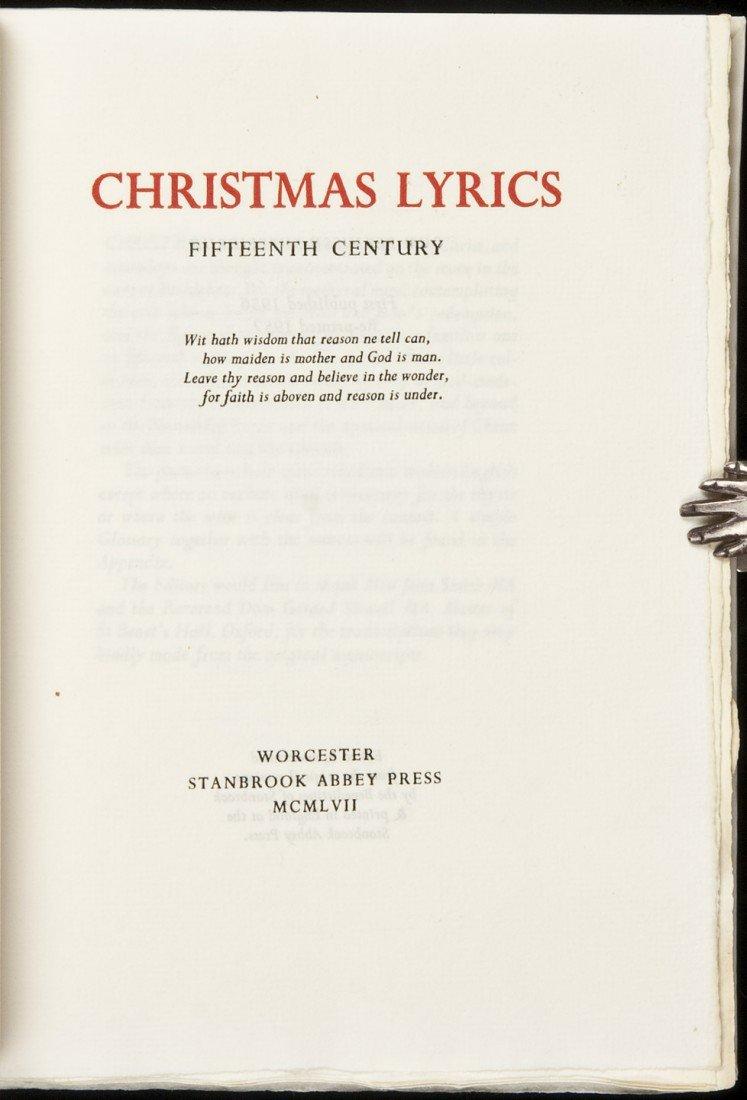 21: Christmas Lyrics: Fifteenth Century