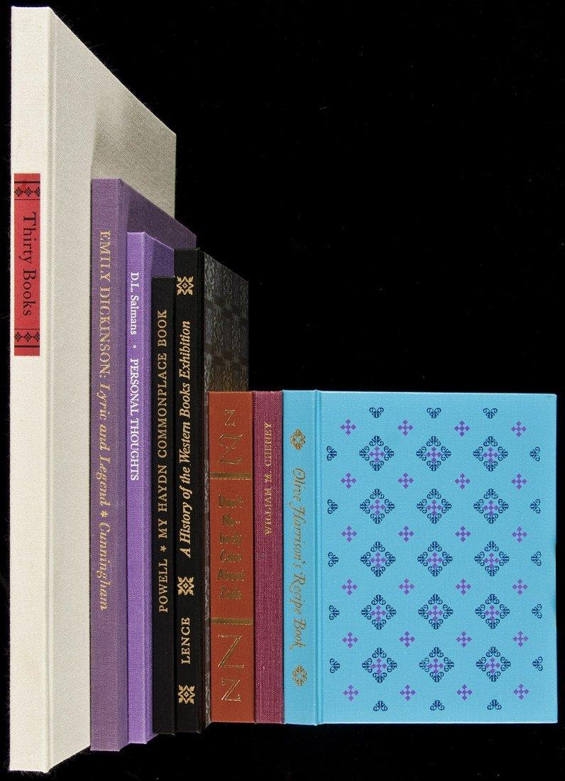 24: 8 fine press volumes from Mariana Blau