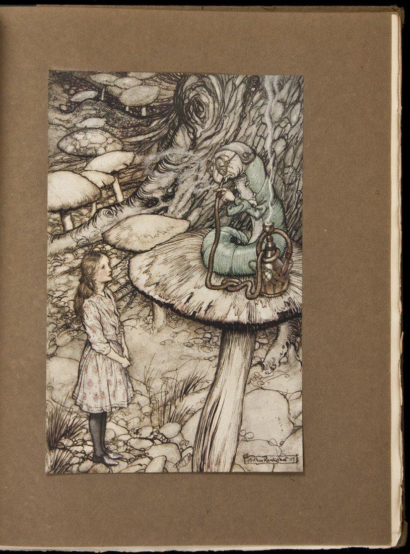 235: Alice's Adventures in Wonderland Rackham Illustra