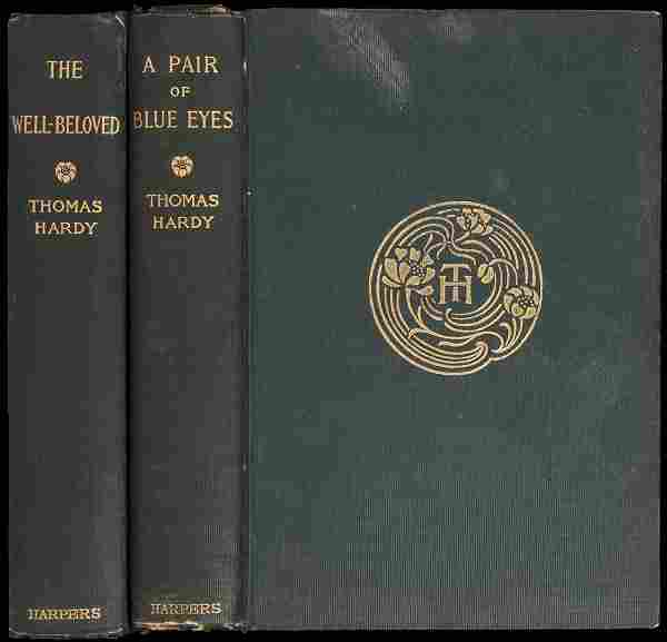 2 novels by Thomas Hardy First American Editions