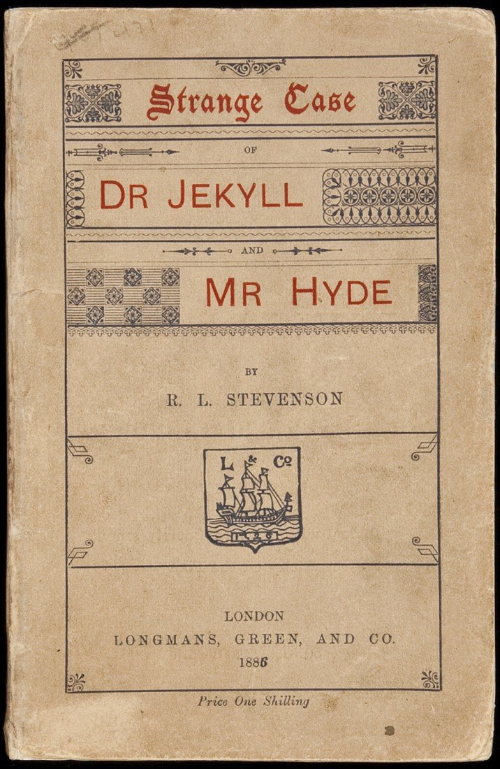 433: Dr Jekyll and Mr Hyde 1st English ed, wrappers