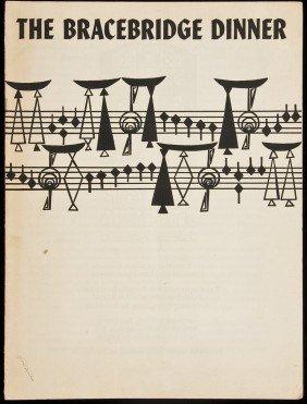 Bracebridge Dinner Text By Ansel Adams 1953
