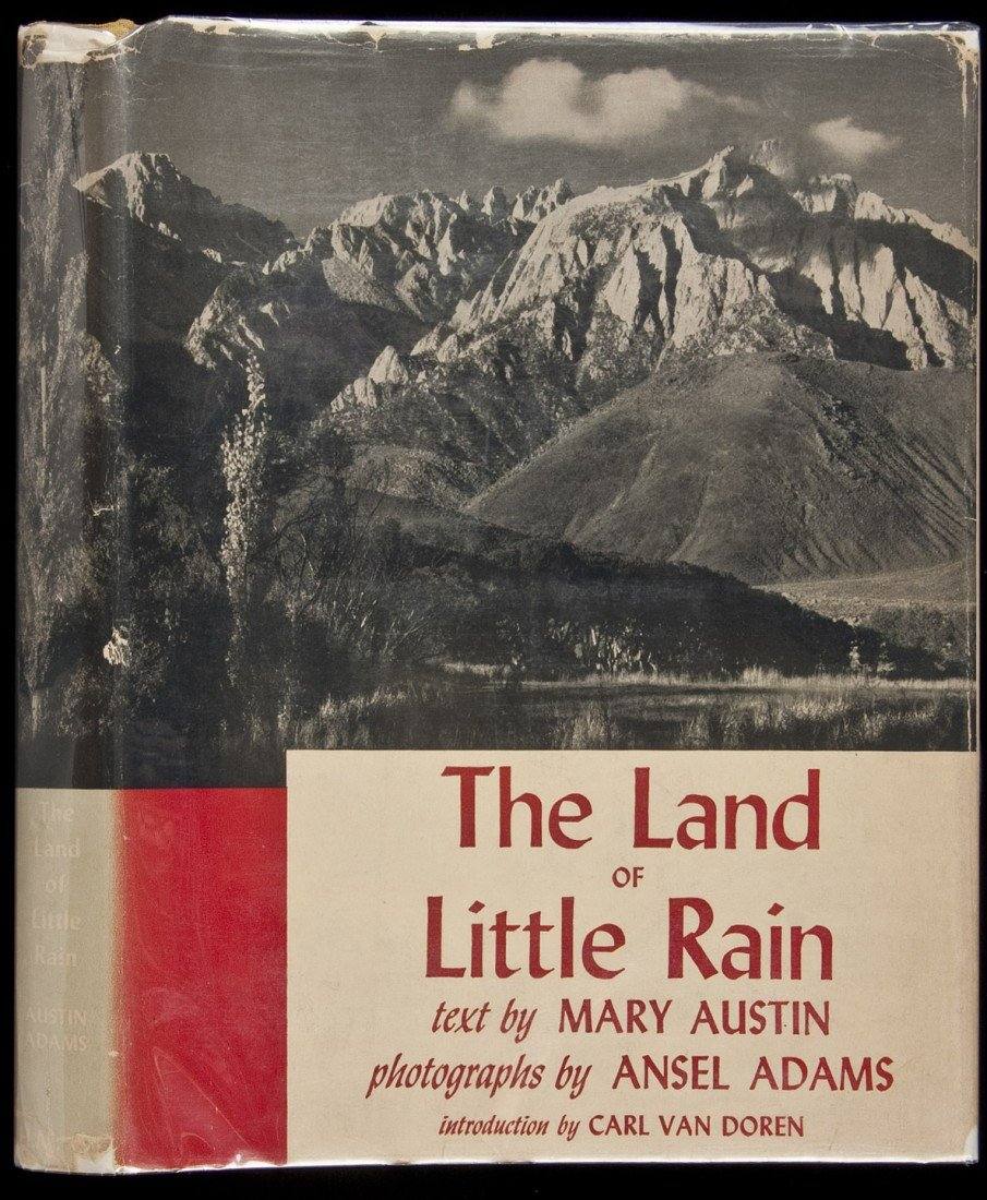 2: The Land of Little Rain Ansel Adams photos