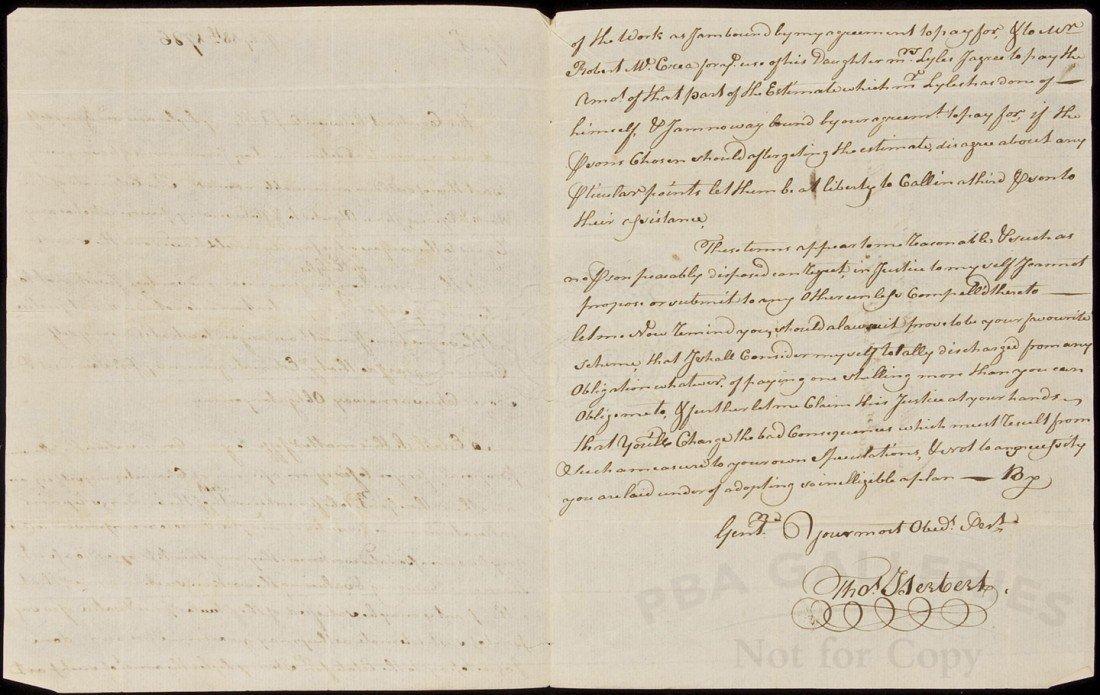 9: Letter regarding Lyles Tavern Alexandria, VA