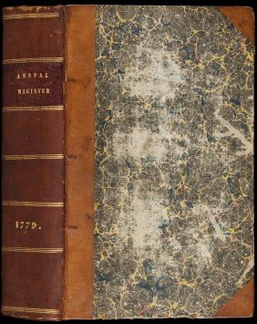 11: Annual Register with American Revolution 1779
