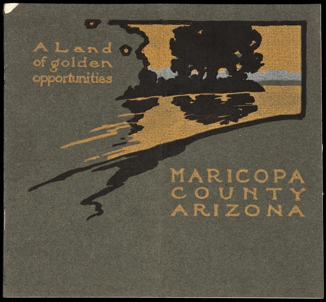 17: Scarce Maricopa County, Arizona, promotional 1905