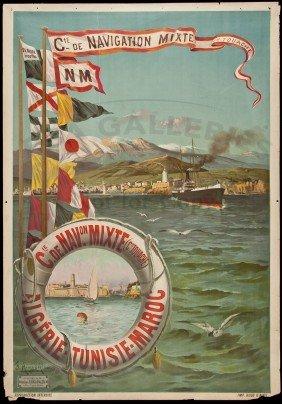 318: 28 Travel posters artwork of Hugo F. d'Alési