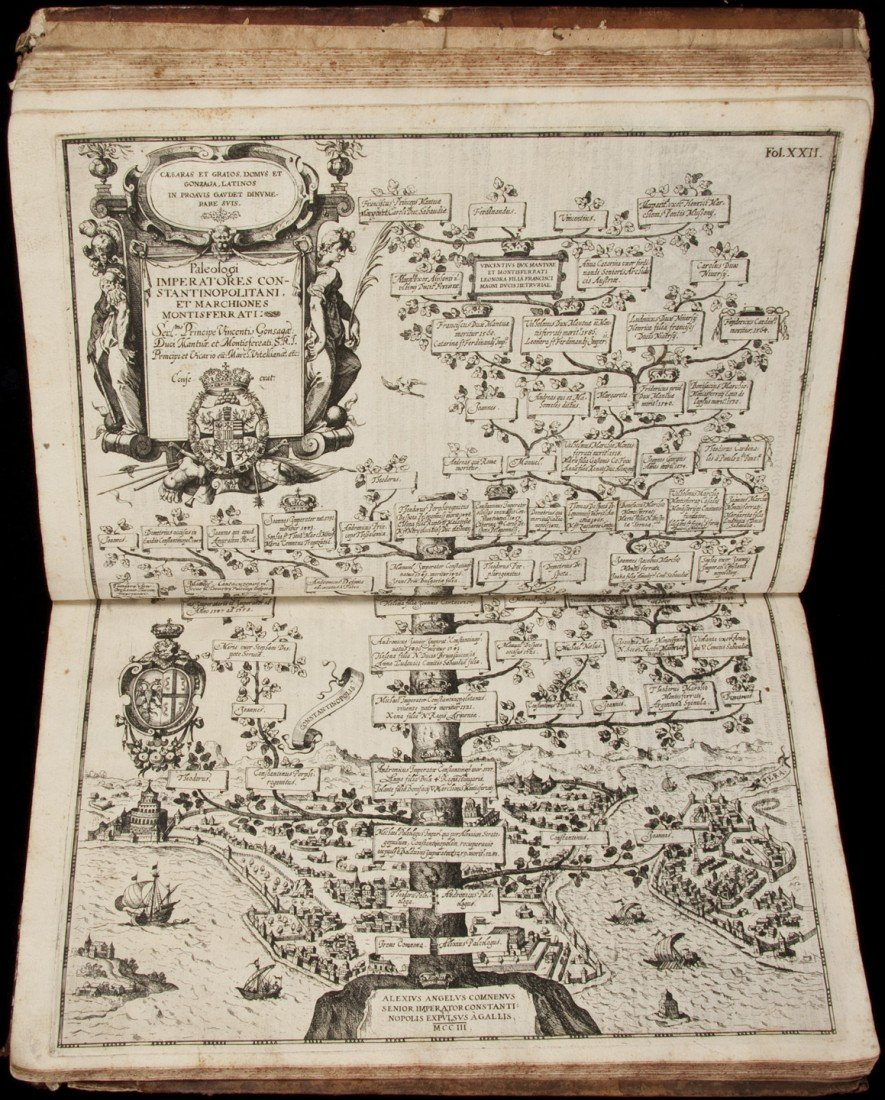 8: Rare work of noble family trees with city views