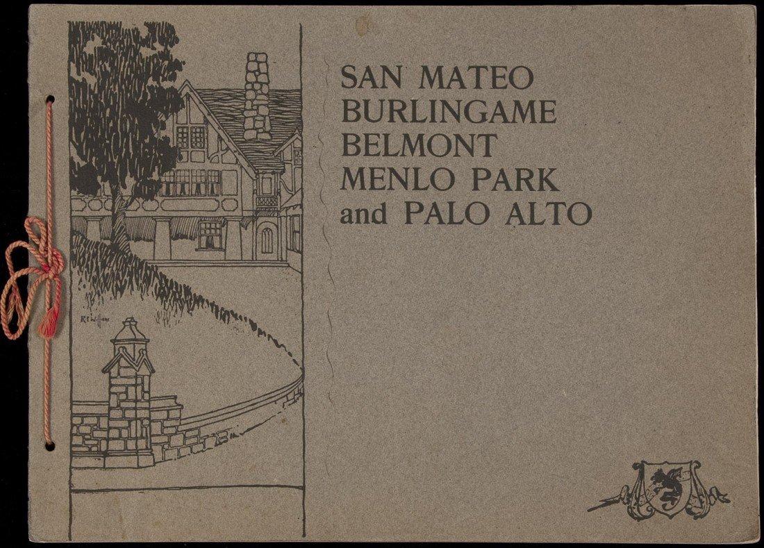 16: Rare view book of San Mateo County 1904