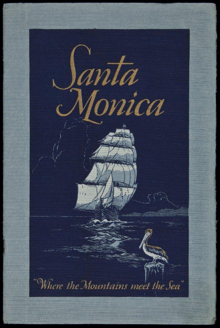 24: Rare Santa Monica promotional booklet