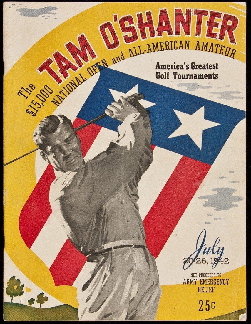 2: 1942 Tam O'Shanter Nat'l Open program rare