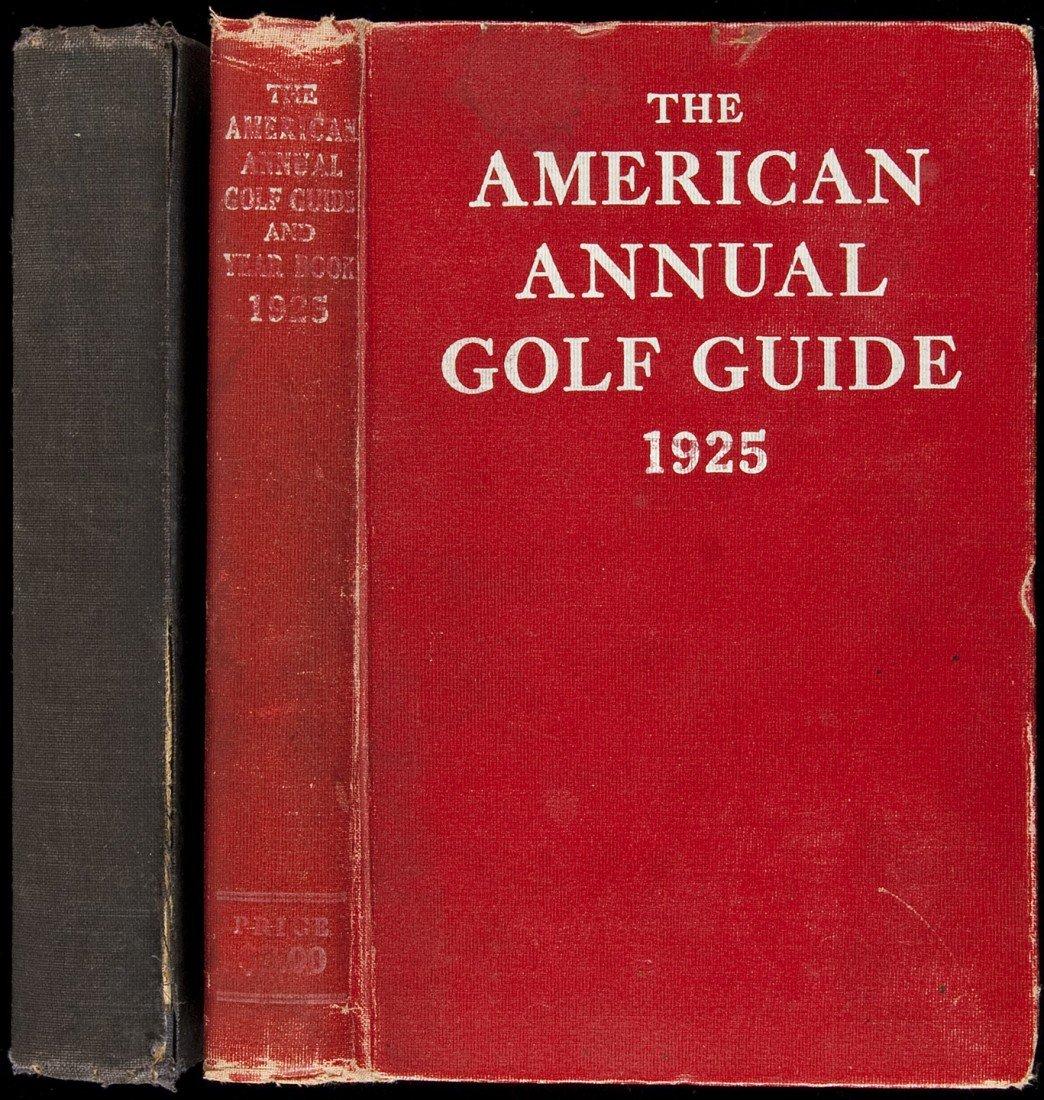 4: American Annual Golf Guide 1922 & 1925