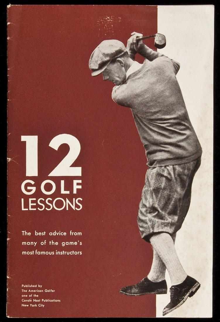 7: 12 Golf Lessons American Golfer Magazine 1929